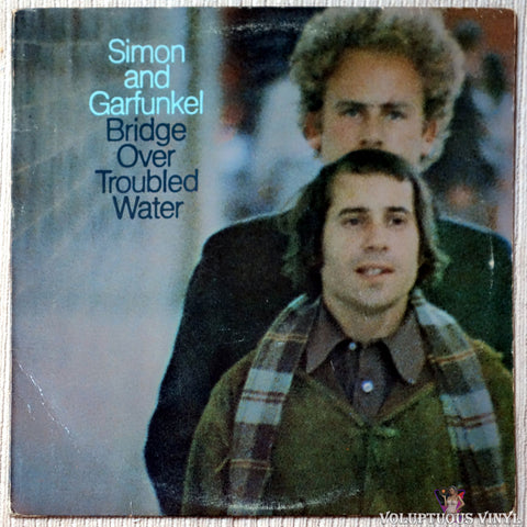 Simon & Garfunkel ‎– Bridge Over Troubled Water vinyl record front cover