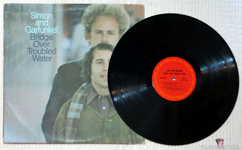 Simon & Garfunkel ‎– Bridge Over Troubled Water vinyl record