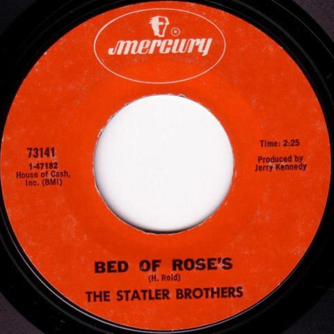 The Statler Brothers ‎– Bed Of Rose's vinyl record