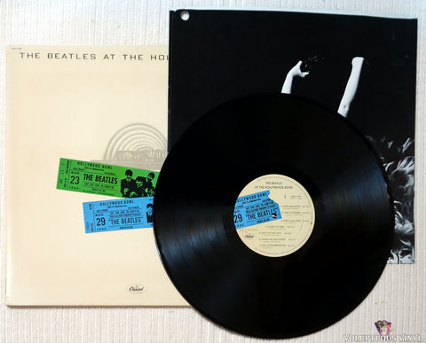 The Beatles ‎– The Beatles At The Hollywood Bowl vinyl record