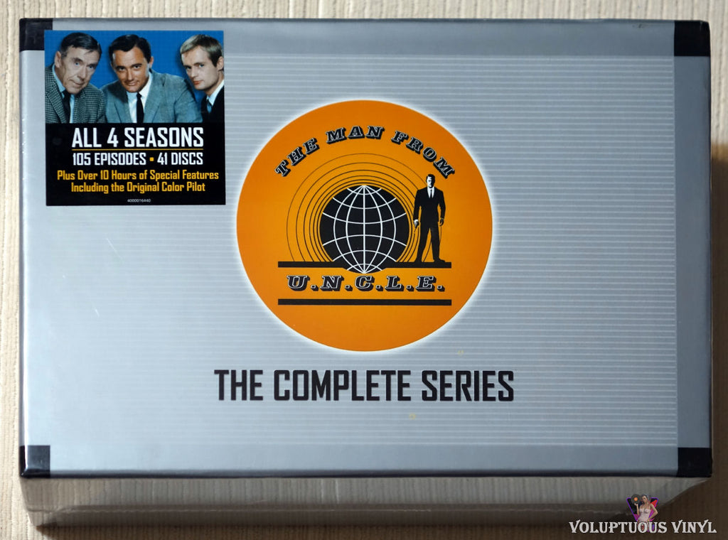 The Man From U.N.C.L.E. - The Complete Series (2008) 41 DVD Set, Collector's Briefcase Edition