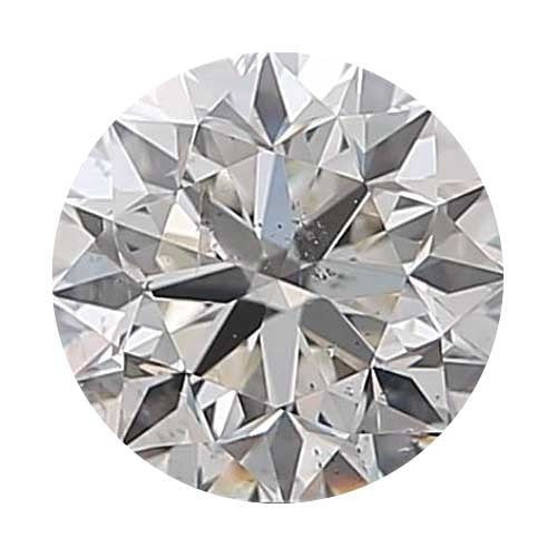 Loose Diamond 0.5 carat Round Diamond - H/SI2 CE Signature Ideal Cut - AIG Certified