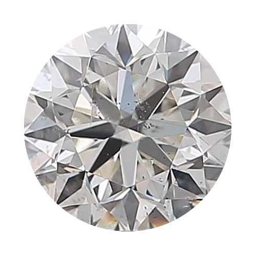Loose Diamond 0.7 carat Round Diamond - H/SI2 CE Good Cut - AIG Certified