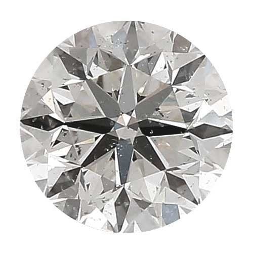 Loose Diamond 1.25 carat Round Diamond - H/SI3 CE Good Cut - AIG Certified