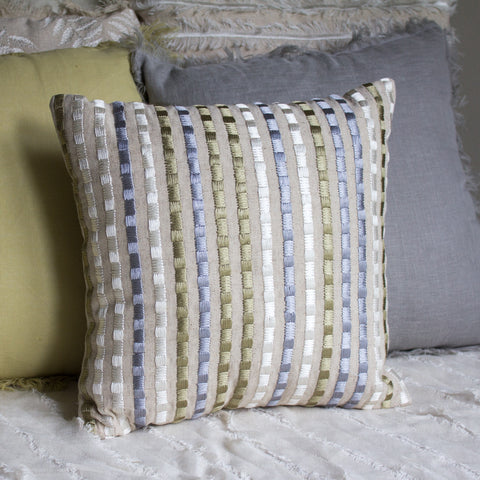 FROST WHITE CUSHION COVER