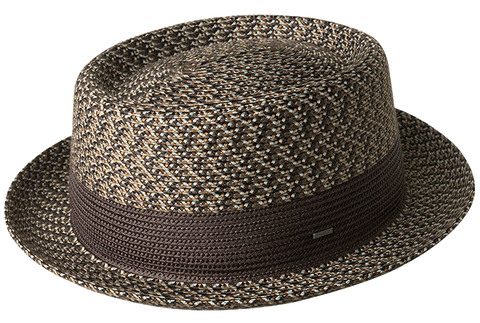 Bailey Telemannes Brown Pork Pie Hat