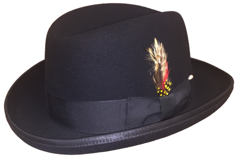 Capas Godfather Homburg Hat