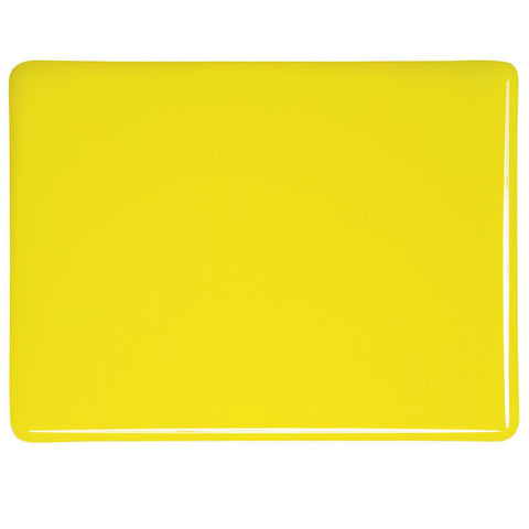 Canary Yellow Opal (120) 3mm-1/2 Sheet-The Glass Underground