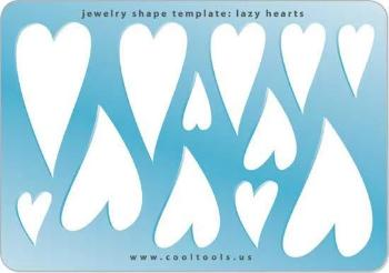 Lazy Hearts Shape Template-The Glass Underground