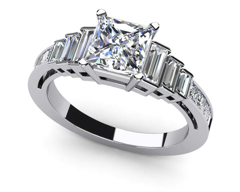 Captivating Love Engagement Ring