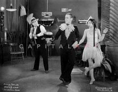 Eddie Foy Dancing in White With Woman Premium Art Print