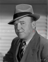 William Frawley Posed in Tuxedo With Hat Premium Art Print