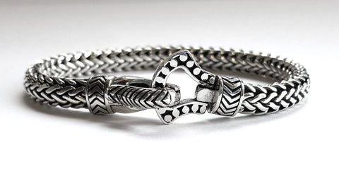 House of Bali by George Thomas Sterling Silver Bracelet