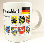 Bundesrepublik Deutschland Germany Coffee Mug Cup 10oz Flags Cities k313