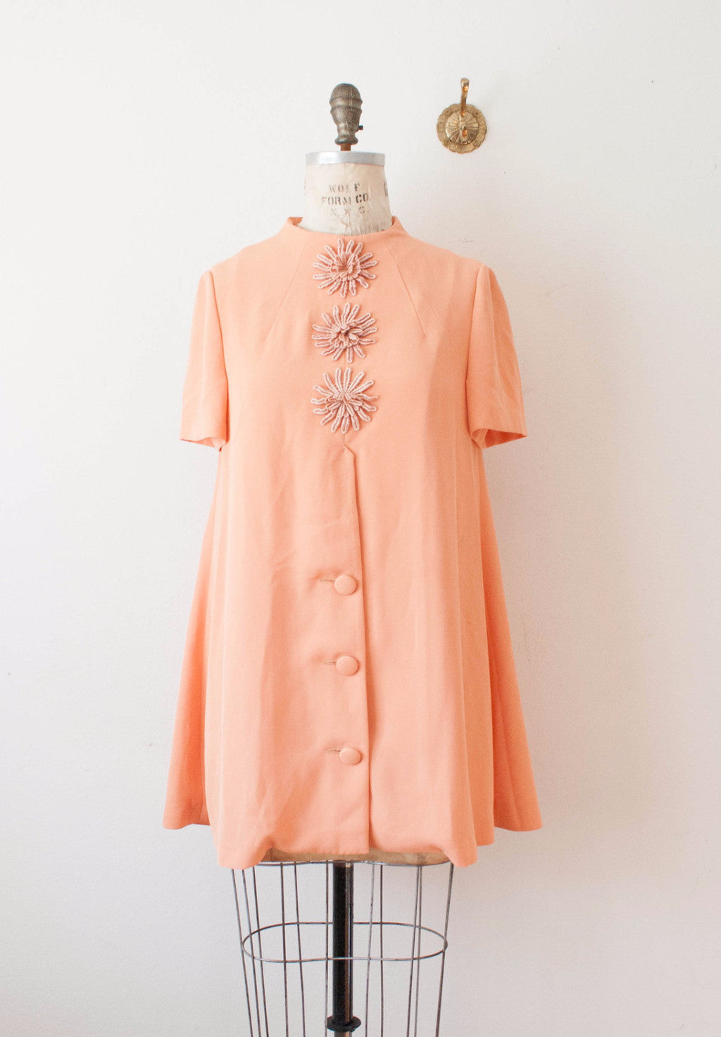 Coral Party Tent Dress