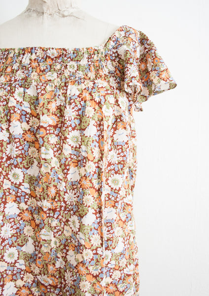 Liberty Print Summer Cotton Dress