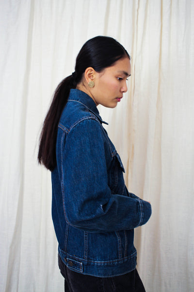 1970s Indigo Levis Denim Jacket