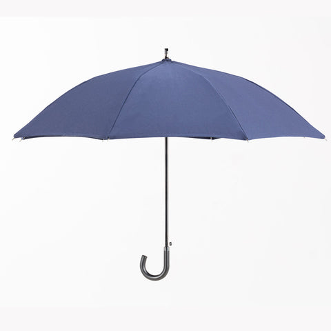 Sun Protection Umbrella™ Navy Blue (small) featuring Sunbrella™ Fabric w/ sleeve and shoulder strap