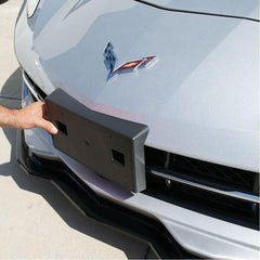 C7 Corvette Stingray GM Front License Plate Bracket