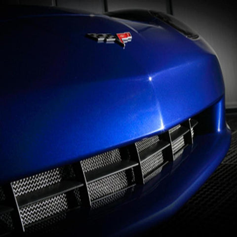 Corvette Radiator Grille Screen : 2005-2013 C6