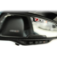 Corvette Rearview Mirror Trim - Stainless Steel : 2005-2013 C6 Z06 505HP