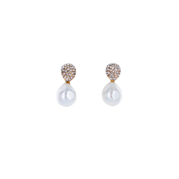 Adele Elegant Pearl Drop Earrings