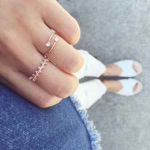 Kiera Triangle Band Ring