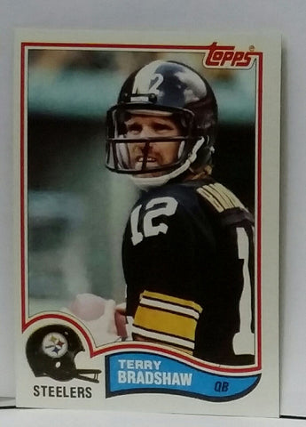 1982 Topps #204 Terry Bradshaw, QB, Pittsburgh Steelers, Graded NM-MT, CardboardandCoins.com