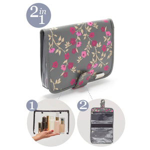 Kate hanging wash bag 2 in 1
