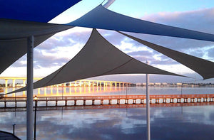 Shade Sails at Riverwalk in Florida
