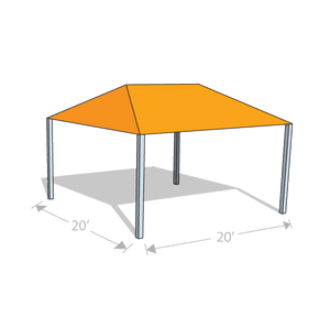 HS-2020 Hip Shade Structure - Tenshon