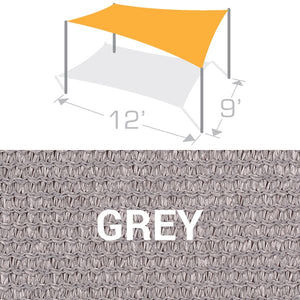 RS-912 Sail Shade Structure Kit - Grey