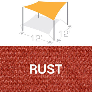 SS-12 Sail Shade Structure Kit - Rust