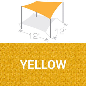 SS-12 Sail Shade Structure Kit - Yellow