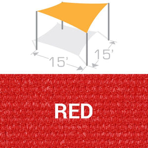 SS-15 Sail Shade Structure Kit - Red