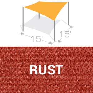 SS-15 Sail Shade Structure Kit - Rust