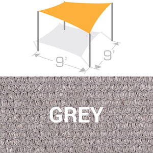 SS-9 Sail Shade Structure Kit - Grey
