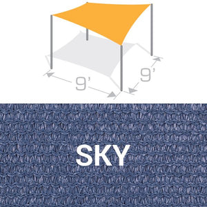 SS-9 Sail Shade Structure Kit - Sky