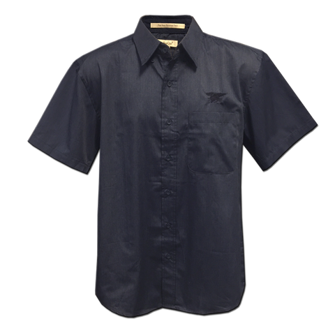 Men's Trident Short Sleeve Twill Shirt - UDT-SEAL Store  - 1