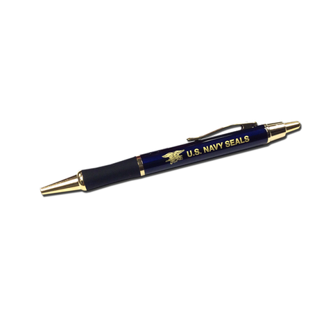 US Navy SEAL Pen with Trident in Gold - UDT-SEAL Store