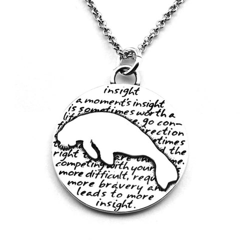 Cat Necklace (Spirit)-D31