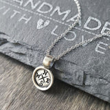 Compass Necklace-FT16 - Kevin N Anna