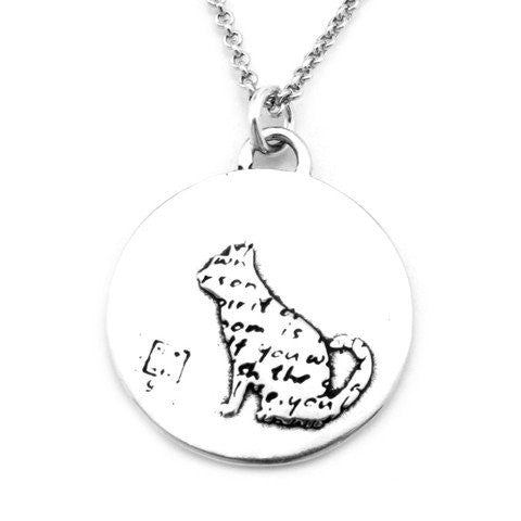 Cat Necklace (Spirit)-D31 - Kevin N Anna