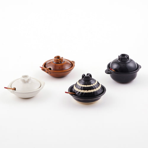 Mini Donabe Condiment Bowls