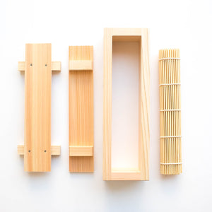 Hinoki Sushi Press Set