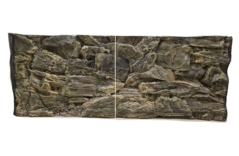 Jungle Bob 3D Aquarium Background 48x16 Inch For 40 Gallon Long 7827 Beige Rock