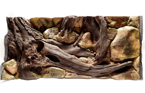 Jungle Bob 3D Aquarium Background 48x16 Inch For 40 Gallon Long 7862 Amazon