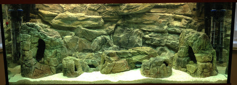Jungle Bob Aquarium Cave Medium Beige
