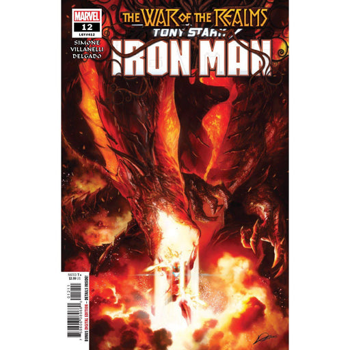 Tony Stark Iron Man #12 WR-Georgetown Comics