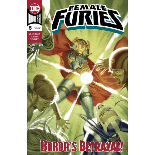 Female Furies #5 (Of 6)-Georgetown Comics